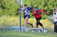 FIERLJEPPEN: JOURE: 27-06-2015, Oane en Ysbrand Galama, ©foto Martin de Jong
