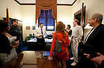 Alfre Woodard, Tim Daly, Dana Delany, Matthew Modine and Tom Fontana of The Creative Coalition meet with Senator Mark Begich (D-AK)  Washington, D.C.