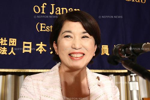 June 8, 2010 - Tokyo, Japan - Mizuho Fukushima, Leader of Social Democratic - 0608-Mizuho-Fukushima-HY-007