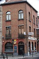 Salah  & Brahim Abdeslam, owners of coffee shop ' Les Béguines ' in Molenbeek - Brussels