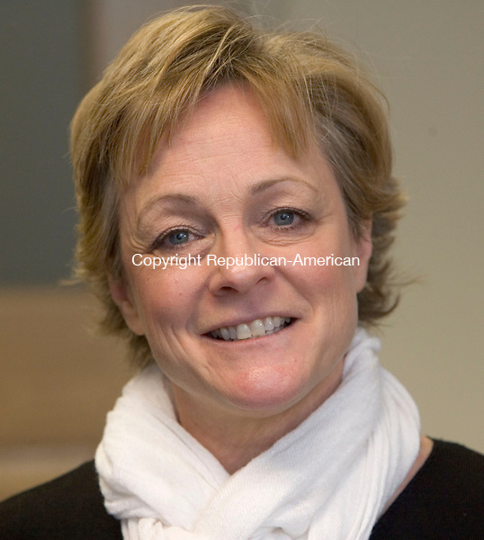 TORRINGTON CT. 10 February 2014-021014SV04-Torrington Mayor Elinor Carbone in her office Monday. <br /> Steven Valenti Republican-American