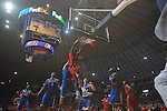 Ole MIss forward Reginald Buckner (2)  dunks at the C.M. &quot;Tad&quot; Smith Coliseum in Oxford, Miss. on Tuesday, February 1, 2011. Ole Miss won 71-69.