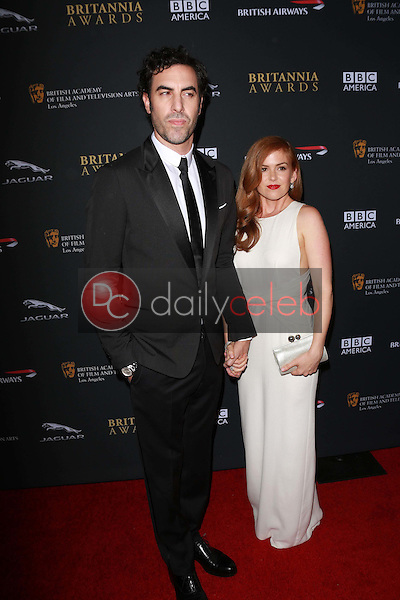 Sacha Baron Cohen, Isla Fisher<br />