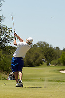 SAN ANTONIO, TX - MAY 15, 2014: The College of Charleston Cougars compete in the NCAA Division I Men's Golf Championship San Antonio Regional at the Briggs Ranch Golf Club. (Photo by Jeff Huehn)