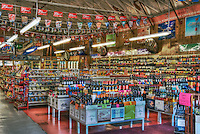 Market, Liquor Store at the California St. intersection, Abbot Kinney Blvd, Venice, CA High dynamic range imaging (HDRI or HDR)