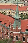 Rooftops of Krakow, Poland