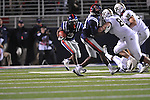 Ole Miss running back Jeff Scott (3) vs. Vanderbilt at Vaught-Hemingway Stadium in Oxford, Miss. on Saturday, November 10, 2012. (AP Photo/Oxford Eagle, Bruce Newman)