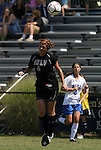 05 September 2009: UNLV's Justine Sauder. The Duke University Blue Devils played the University of Nevada Los Vegas Runnin' Rebels to a 0-0 tie after overtime at Koskinen Stadium in Durham, North Carolina in an NCAA Division I Women's college soccer game.