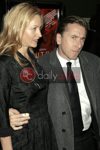 Tim Roth and wife Nikki<br />at the Los Angeles premiere of 'Youth Without Youth'. WGA Theater, Beverly Hills, CA. 12-07-07<br />Dave Edwards/DailyCeleb.com 818-249-4998