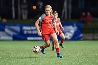 Boston, MA - Friday May 19, 2017: Lindsey Horan during a regular season National Women's Soccer League (NWSL) match between the Boston Breakers and the Portland Thorns FC at Jordan Field.