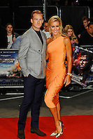 LONDON, ENGLAND - SEPTEMBER 26: Greg Rutherford and Natalie Lowe attending the 'Deepwater Horizon' European Premiere at Cineworld, Leicester Square on September 26, 2016 in London, England.<br /> CAP/MAR<br /> &copy;MAR/Capital Pictures /MediaPunch ***NORTH AND SOUTH AMERICAS ONLY***