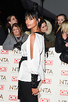 Alesha Dixon at the National TV Awards 2017 held at the O2 Arena, Greenwich, London. <br /> 25th January  2017<br /> Picture: Steve Vas/Featureflash/SilverHub 0208 004 5359 sales@silverhubmedia.com