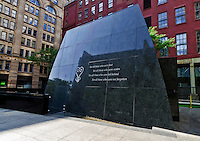 African Burial Ground National Monument, Manhattan,New York City, New York, USA