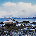 The Lofoten Islands boasts a strong fishing industry, which spends part of the year idle.