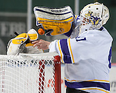 Sean Dougherty (Williams - 41) - The Williams College Ephs defeated the Trinity College Bantams 4-2 (EN) on Tuesday, January 7, 2014, at Fenway Park in Boston, Massachusetts.