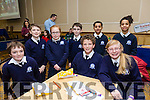 Pictured at the Tralee Credit Union Schools Quiz Brandon hotel on Sunday were Fionn Dairo, Faye O'Connor, Rory Kelleher, Ciaran Kavanagh, Callum Hueston, Seoirse O'Donoghue, Caoimhe Dairo and Paddy Moran from St. Brendan's NS Blennerville