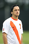 20 September 2013: Syracuse's Alex Halis (CAN). The Duke University Blue Devils hosted the Syracuse University Orangemen at Koskinen Stadium in Durham, NC in a 2013 NCAA Division I Men's Soccer match. Syracuse won the game 2-1.