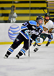 23 November 2011: University of Maine Black Bears' forward Dawn Sullivan, a Senior from Enfield, Nova Scotia, in action against the University of Vermont Catamounts at Gutterson Fieldhouse in Burlington, Vermont. The Lady Bears defeated the Lady Cats 5-2 in Hockey East play. Mandatory Credit: Ed Wolfstein Photo