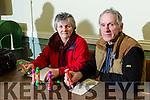 Mary O'Halloran and Pa Flaherty Ardfert, enjoying  Monday night Bingo at Na Gaeil  Club House