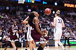 DALLAS, TX - MARCH 31:  Morgan William #2 of the Mississippi State Lady Bulldogs shouts during the 2017 Women's Final Four at American Airlines Center on March 31, 2017 in Dallas, Texas. (Photo by Justin Tafoya/NCAA Photos via Getty Images)