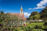 The Kahakuloa Congregational Church in Old Kahakuloa Village, Maui