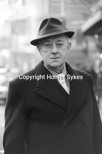 Sir Alec Guiness London UK 1977.