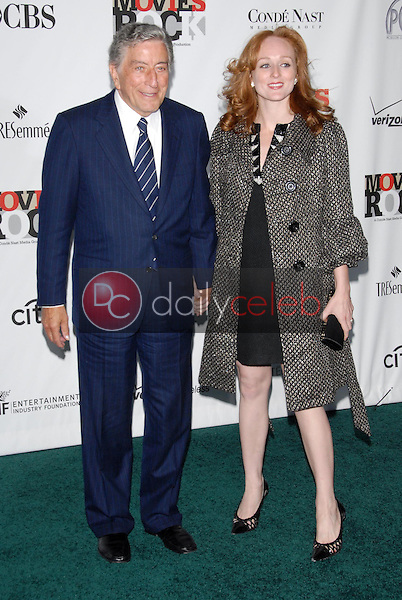 Tony Bennett and wife Susan<br />