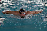 Michael Phelps during a trainning season in NYC