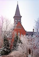 Old Mill, Winter UVM Campus