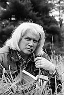 June 1979, USA --- British Writer John Gardner --- Image by © JP Laffont