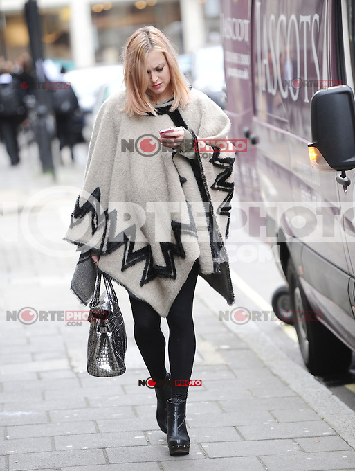 November 13rd, 2012 - London..Fearne Cotton  seen leaving RadioOone studios .(kdena/nortePhoto)