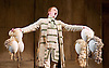 The Barber of Seville <br /> by Rossini <br /> English National Opera, London Coliseum, London, Great Britain <br /> Rehearsal <br /> 25th September 2015 <br /> <br /> <br /> <br /> Morgan Pearce as Figaro <br /> <br /> <br /> <br /> Photograph by Elliott Franks <br /> Image licensed to Elliott Franks Photography Services