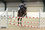 Class 10. 1.05m. Unaffiliated showjumping. Brook Farm Training Centre. Essex. 12/02/2017. MANDATORY Credit Ellen Szalai/Sportinpictures - NO UNAUTHORISED USE - 07837 394578