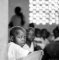 School children at a school in Cap-Haïtien, Haiti
