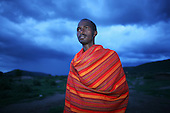 Masai man, Kenya