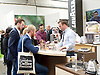 The London Coffee Festival <br /> Truman Brewery, Brick Lane, London, Great Britain <br /> 6th April 2017 <br /> <br /> General atmosphere on the opening day of the London Coffee Festival <br /> Lavazza stand <br /> <br /> <br /> Photograph by Elliott Franks <br /> Image licensed to Elliott Franks Photography Services