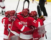 Patrick McCarron (Cornell - 27) - The Harvard University Crimson defeated the visiting Cornell University Big Red on Saturday, November 5, 2016, at the Bright-Landry Hockey Center in Boston, Massachusetts.