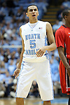 09 November 2012: North Carolina's Marcus Paige. The University of North Carolina Tar Heels played the Gardner-Webb University Runnin' Bulldogs at Dean E. Smith Center in Chapel Hill, North Carolina in an NCAA Division I Men's college basketball game. UNC won the game 76-59.