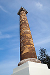 National Geographic Sea Lion's Columbia River Expedition in the Pacific Northwest, Oregon. The newly restored Astoria Column.