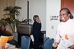 "March 11, 2010. Raleigh, North Carolina.. The first N.C. Poverty Simulation Experience training session was held at the 40th Annual State Head Start Conference at the Raleigh Convention Center.  . Nearly 60 individuals, including staff and parents from Head Start programs and Community Action Agencies, engaged in role playing exercises that hoped to simulate the experience of being poor and what the poor go through on a daily basis.. A ""child"" smokes at ""school""."