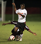 1 November 2006: Maryland's Maurice Edu (10). Maryland defeated Boston College 1-0 in double overtime at the Maryland Soccerplex in Germantown, Maryland in an Atlantic Coast Conference college soccer tournament quarterfinal game.