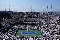 Novak Djokovic of Serbia against  Kei Nishikori of Japan during men semifinal match at the US Open 2014 tennis tournament in the USTA Billie Jean King National Center, New York.  09.05.2014. VIEWpress