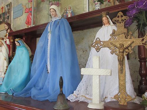 Altar dedicado a la Virgen Pura y Limpia