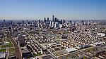 Philadelphia PA helicopter aerial
