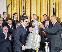 Washington DC, October 6, 2016, USA:  President Barack Obama welcomes the 2015 NHL Hockey Champion Pittsburg Penguins to the White House.  Patsy Lynch/Washington DC, October 6, 2016, USA:  President Barack Obama welcomes the 2015 NHL Hockey Champion Pittsburg Penguins to the White House.  Patsy Lynch/MediaPunch