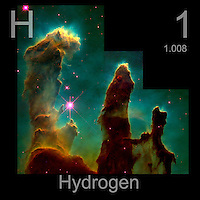 Hydrogen gas in a Nebula