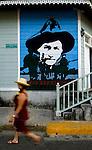 Nicaragua / San Juan Del Sur / Augusto Sandino Portrait / Revolution / Tourist