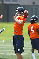 Va quarterback Brendan Lane during open spring practice for the Virginia Cavaliers football team August 7, 2009 at the University of Virginia in Charlottesville, VA. Photo/Andrew Shurtleff