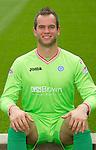 St Johnstone FC...Season 2011-12.Alan Mannus.Picture by Graeme Hart..Copyright Perthshire Picture Agency.Tel: 01738 623350  Mobile: 07990 594431
