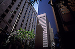 TransAmerica Pyramid and other buildings downtown San Francisco California USA